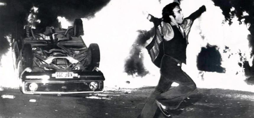 Star Hotel Riot, 1979 - Photograph courtesy Ron Bell